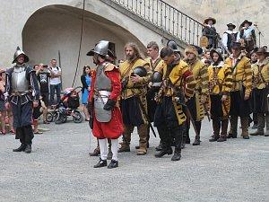 Obsazení Křivoklátu švédskými vojsky 2016