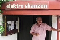 Elektroskanzen ve Šlovicích a Petr Čech