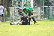 V závěrečném derby I. B třídy porazil Tatran Lužnou 3:0.