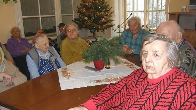 Vánoční atmosféra v Domově v Kolešovicích.