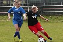 Lvice z Pavlíkova porazily v dalším kole divize žen Postoloprty 4:0.