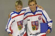 Jan Prokop (vlevo) a Kamil Truxa se zapsali mezi střelce