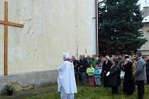 Svěcení kříže a advent v Lišanech