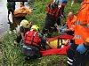 Zraněný cyklista se naštěstí dovolal pomoci