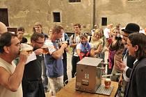 Ochutnávka piva na hradě Křivoklátu