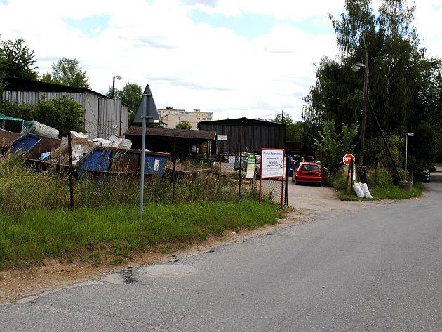 Sběrný dvůr v Rakovníku by se měl dočkat rozšíření a rekonstrukce