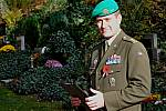 V Rakovníku si připomněli v urnovém háji Den válečných veteránů.