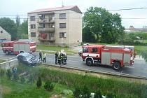 Nedělní nehoda v Hořesedlích