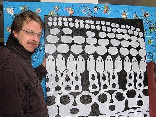 Dalibor Blažek a jeho výtvarná práce