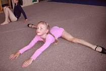 Malí gymnasté v roztocké mateřince