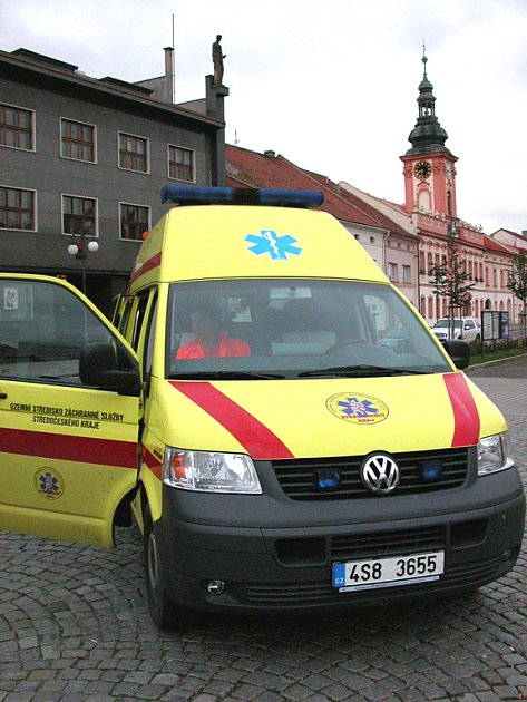 Sanita rakovnické záchranné služby