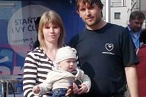 Jaroslav Smolný s rodinou
