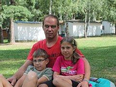 Ladislav Dobrý s dětmi