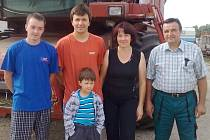 Rodina Františka Ratzky z Hořesedel