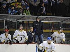 HC Rakovník - SK Černošice 1:3 (0:1, 1:1, 0:1). Stav semifinále play off 0:1
