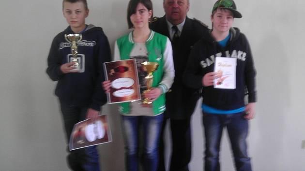 Vědomostní soutěž mladých hasičů o pohár náměstka OSH Rakovník