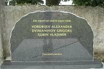 Opravený válečný hrob a pomník