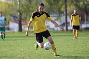 Z fotbalového utkání I.B třídy Lišany - Zavidov (0:5)