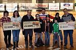 Multi charitativní akce Retro hokejbal pomáhá se v rakovnické sportovní hala uskutečnila již počtvrté.