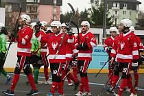 Rakovničtí hokejbalisté rozdrtili Sudoměřice