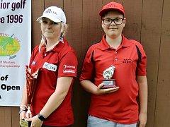 Olivia Prokopová získala zlato v kategorii žen a stříbro v kategorii dvojic. Mladíček Pavel Mayer vybojoval zlato v kategorii juniorů do 12 let.