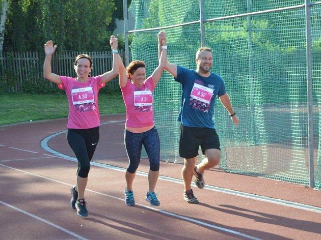 T-Mobile olympijský běh v Novém Strašecí.