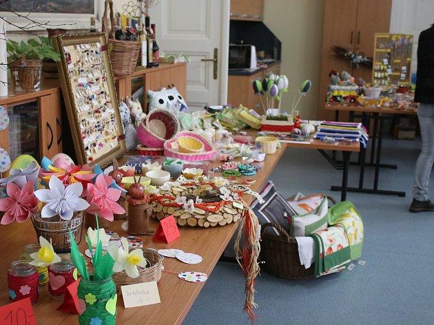 Velikonoční výstava v Kněževsi byla k vidění celý týden.