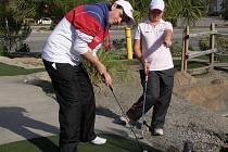 Příprava na US Masters 2011
