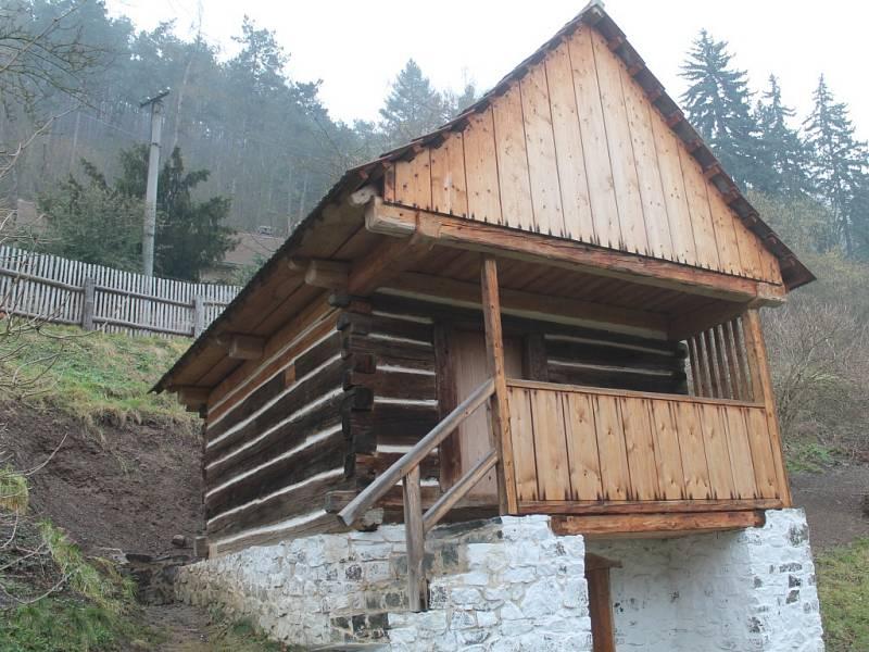 Zimní práce na Hamousově statku