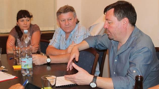 První schůzka k projektu Klimadapt