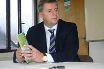 Ministr zemědělství Petr Bendl