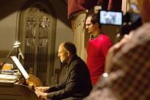 Součástí Heroldova Rakovníka 2017 byl i varhanní koncert Enrica Zanovelliho.