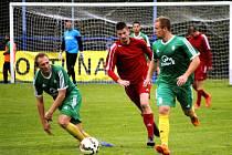 Nové Strašecí - Karlovy Vary 1:3, divize A - podzim 2015