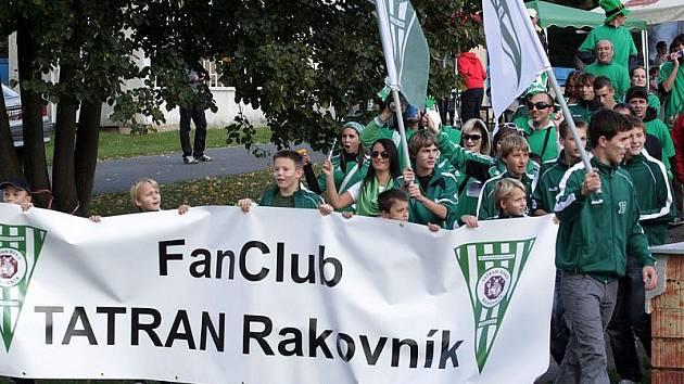 Sraz a pochod fanoušků Tatranu