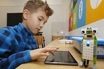 Učebna robotiky. Ilustrační foto.
