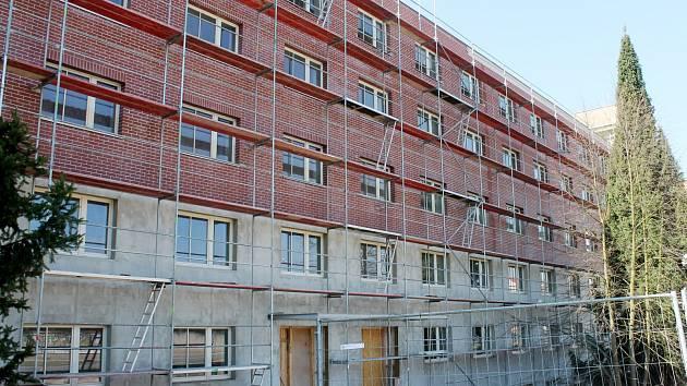 Vznikající domov pro seniory v Rakovníku