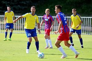 Jiří Novotný zpět na hřišti a hned ve třetí lize. Rakovníku pomohl skvělým výkonem k remíze s Plzní B.