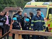 Čtvrtý ročník Železného hasiče v Kounově.