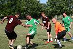 Turnaj v malé kopané v Kounově ovládli fotbalisté Hředel.