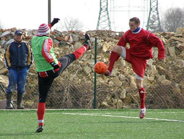 FK Kněževes - SK Lhota