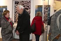 Zahájení výstavy Výprava za Vikingy v Petrově výstavní síni rakovnického muzea.