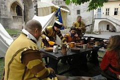 Křivoklátu se zmocnilo švédské vojsko. Ale jen v rámci víkendové akce.