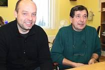 Radek Malina(vlevo)