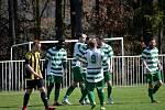 Z divizního fotbalového utkání Tatran Rakovník - Březová (4:0)