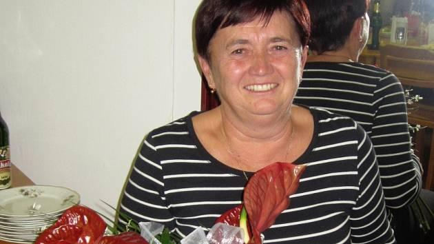 Oceněná Zdena Jirková