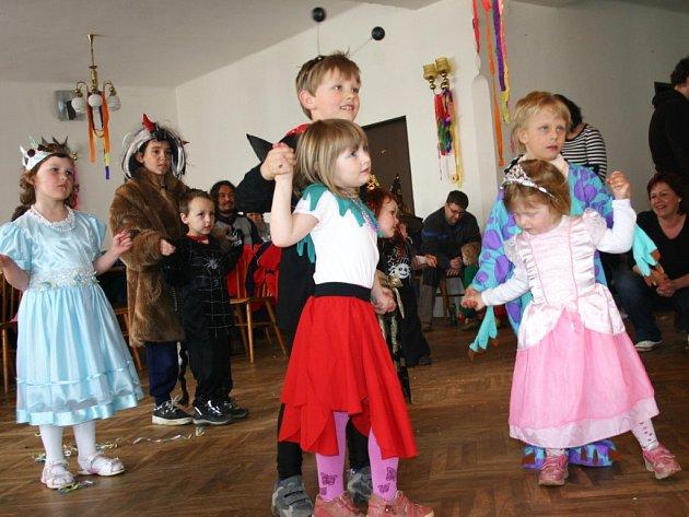 Dětský karneval v Přílepích