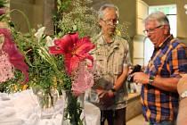 Třicátá výstava lilií v Rabasově galerii v Rakovníku.