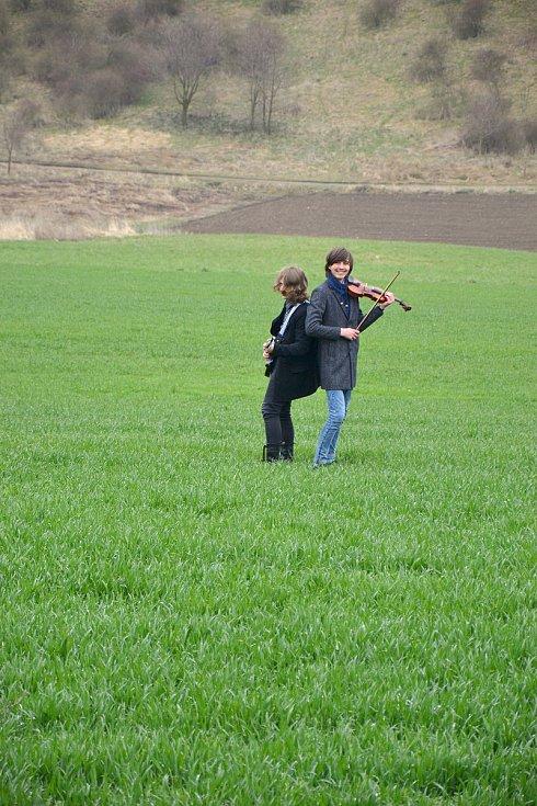 Mateo a Tonda vpoli u Řevničova.