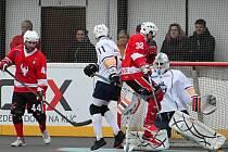 Hokejbalisté HBC Rakovník vyšli i v druhém domácím jarním duelu extraligy bodově i brankově naprázdno. Ústecké Elbě podlehli 0:4.
