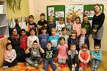 První ročník ZŠ a MŠ Bez hranic Mšec vede třídní učitelka Pavlína Bílková.